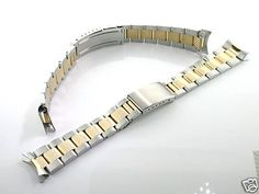 Oyster Band for Rolex Datejust 16013, 16233 Gold/ss 20mm on http://watches.kerdeal.com/oyster-band-for-rolex-datejust-16013-16233-goldss-20mm