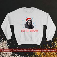 Jon Snow Ugly Christmas Sweater Let It Snow Christmas