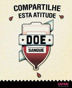 Campanha para doação de sangue by Safari.to