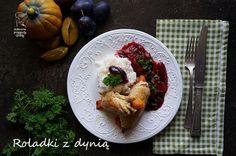 Kulinarne przygody Gatity: Schabowe roladki z dynią w sosie śliwkowym
