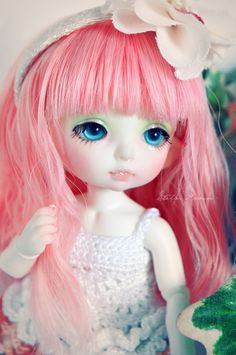 https://flic.kr/p/8GgYJT | Mochi - PukiFee Zoe | Finally finished her faceup... but messed up it a bit whit the gloss touch ^^; at least she looks cute
