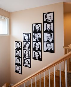 Giant Family Photobooth Portraits