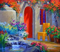 Mikki Senkarik The painting of