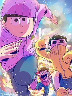 Oh gosh seriously what happen? All Anime, Me Me Me Anime, Manga Anime, Anime Art, Kawaii Anime, Onii San, Osomatsu San Doujinshi, Gekkan Shoujo, Ichimatsu