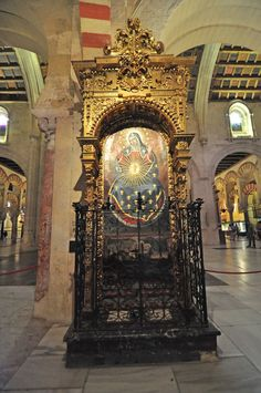 Virgo, Altar, Wordpress, Spain, Tower, Building, Travel, Cordoba, Rook