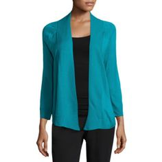 FREE SHIPPING AVAILABLE! Buy Worthington 3/4 Sleeve Cardigan-Petites at JCPenney.com today and enjoy great savings.