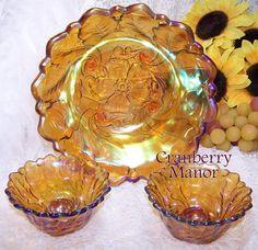 Vaisselle d autrefois on pinterest carnival glass pink for Autrefois home decoration