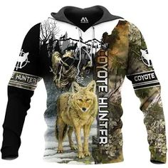 predator quest les johnson - Google Search Coyote Hunting, Predator, Motorcycle Jacket, Graphic Sweatshirt, Google Search, Sweatshirts, Jackets, Fashion, Down Jackets