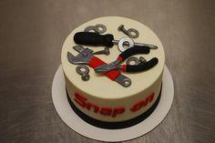 Daphne's Bakery, Mint Hill NC! Best Place ever! Idea for Jordan's Birthday! Tool Cake. Snap On. Mechanic.