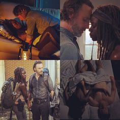 Rick and Michonne | The Walking Dead (AMC)