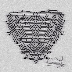 #instagram #btattooing #tattoo #linework #art #лайнворк #эскиз #sketch #blacktattoo #equilattera #dotwork #дотворк #blackart #blackworkers_tattoo #geometric #minimalism #russiatattoo #spb #питер #黥 #時尚 #藝術 #alien #love #grickih #alien #space