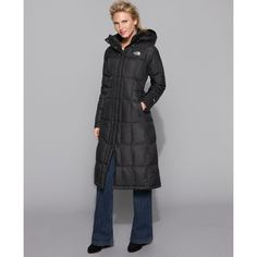 The North Face Coat, Triple C Long Hooded Puffer