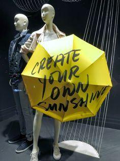 umbrella window display - Google Search
