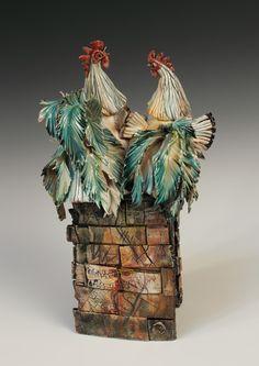 Annie Peaker contemporary figurative ceramics