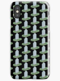 Pixel Tombstone Grave Sleep-zone' iPhone Case by proudnothing Cool Iphone Cases, Iphone Case Covers, 3d Pixel, Sleep, Gift Ideas, Cool Stuff, Gifts, Presents, Favors