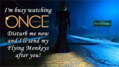 Share this to make people understand the consequences of disturbing you during #OUAT