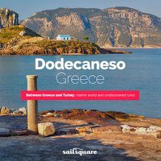 #Dodecaneso #Greece #sailing  www.sailsquare.com