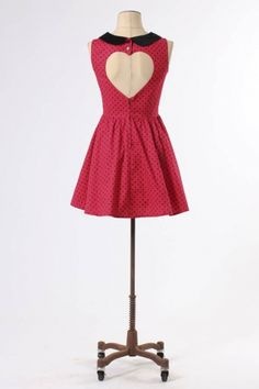 The Red Alesha-Kate Dress by Hell Bunny