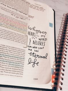 VSCO - #Bible #BibleJournal #quote #vsco #vscox | hannahxxmaria Bible Drawing, Bible Doodling, Bible Verses Quotes, Bible Scriptures, Bible Art, Faith Bible, Faith Prayer, Journaling, Bibel Journal