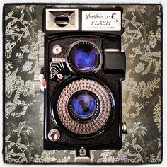 Yashica E camera