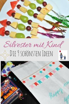 Die 9 schönsten Ideen für Silvester mit Kind The 9 most beautiful ideas for New Year's Eve with child! For a successful New Year's Eve party with the family. Silvester Snacks, Silvester Diy, Silvester Party, New Years Eve Dinner, New Years Eve Party, Presents For Men, Xmas Presents, Craft Gifts, Diy Gifts