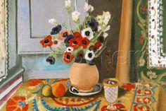 Henri Matisse Les Anemones Flowers Prints by Henri Matisse at ...