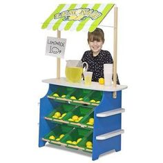 Have a lemonade stand in the Party Room in the summertime.