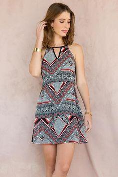 Palermo Printed Dress $44.00
