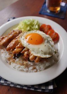 Frango teriyaki com ovo frito Wine Recipes, Asian Recipes, Beef Recipes, Cooking Recipes, Healthy Recipes, Food Porn, Aesthetic Food, Food Menu, Easy Cooking