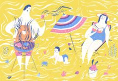 Barbecue on Behance