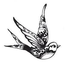Afbeeldingsresultaat voor tattoo swallow bird