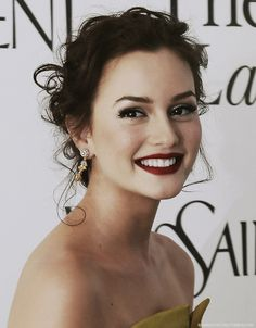 Leighton meester more natural: very pretty.