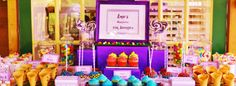 Willy Wonka party on Little Big company blog