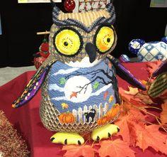 Tapestry fair owl