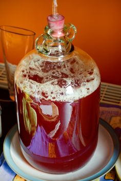 Raspberry & Cranberry Mead This sounds like a perfect blend of sweetness, tartness, and acidity. Homemade Alcohol, Homemade Liquor, Wine And Liquor, Wine And Beer, Mead Wine, Mead Recipe, Honey Wine, Mango Avocado Salsa, Beltane