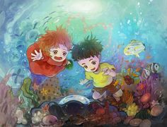 Studio Ghibli Art Gallery- Ponyo