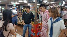 YONG shooting a scene
