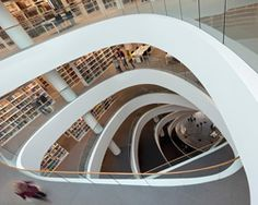 schmidt hammer lassen architects: university of aberdeen new library in the u.k. via designboom. {Wow~}