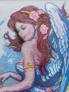 Angel, Embroidery, Painting, Art, Art Background, Angels, Painting Art, Kunst, Gcse Art