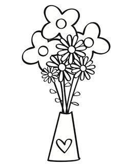 Las 11 Mejores Imágenes De Flores Para Colorear Dibujos De