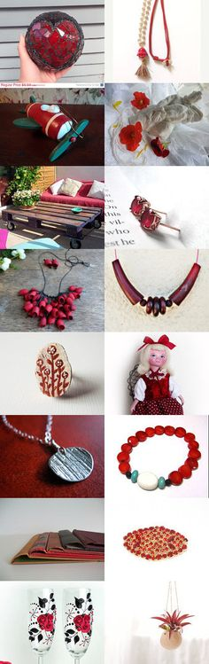 RED by Laura P. on Etsy--Pinned with TreasuryPin.com