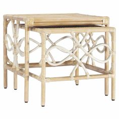 I pinned this 2 Piece Elise Nesting Table Set from the Frost & Florals event at Joss and Main!