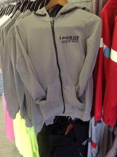 Embroidered landslide zip hoodies $35