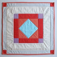 Amish Diamond Quilt Squares.