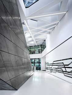 Porsche Museum, Stuttgart, Germany by Delugan Meissl Architect