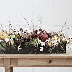 Shop the Project: A Fall Floral Trough