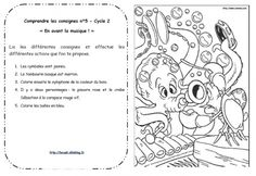 Lire et comprendre les consignes Cycle 2 Communication Orale, Cycle 2, Teaching French, Math Games, Reading Comprehension, Third Grade, Classroom, Activities, Education