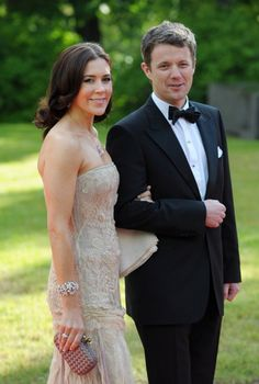 Crown Prince Frederick and Crown Princess Mary of Denmark