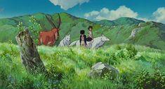 Princess Mononoke Characters, Create Color Palette, Ghibli Movies, Hayao Miyazaki, Animation Film, Cute Icons, Aesthetic Anime, Fairy Tales, Cartoon