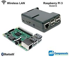 Wireless Network A high-speed card that is used to access a network through a USB port on a computer or laptop. Most wireless USB LAN adapters look like small USB flash drives and Integrated 802.11n wireless LAN and Bluetooth 4.1 usually are based on the Raspberry Pi 3 Model B 1 GB Ram Latest 2016 standard which provides a data rate in a wireless LAN environment.